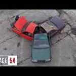 """Automobilių antuzijastai iš """"Garaž 54"""" sukūrė automobilį-spinnerį"""