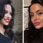 Amerikiečių modelis, kuri itin panaši į Angelina Jolie
