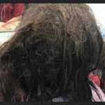 Kirpėja 13 valandų tvarkė paauglės plaukus ir padarė stebuklą