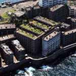 Hashima – vaiduoklių sala Japonijoje