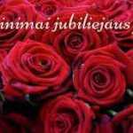 Gražūs žodžiai, sveikinimai jubiliejaus proga
