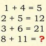 Tik žmonės, turintys labai aukštus IQ, gali išspręsti šį matematikos testą!