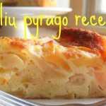 Labai paprastas ir skanus obuolių pyragas