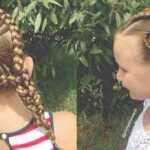 Populiarios vidutinio plaukų šukuosenos mergaitėms