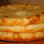 Osetijos pyragas su bulvėmis: lengva, nebrangu, skanu ir sveika