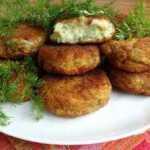 Virtų bulvių kotletukai