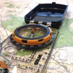 Kaip naudotis kompasu?