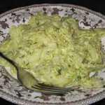 Makaronai su kiaušinių - sūrio padažu
