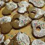 Meduoliniai sausainiai, receptas