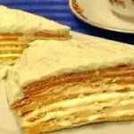 """Medaus tortas """"Paryžiaus dvaras"""", receptas"""