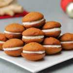 Imbieriniai sausainiai su kremo įdaru, receptas