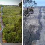 Šokiruojantys pokyčiai: 21 nuotraukų, rodančių tikrąją Australijos gaisrų žalą