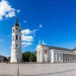 Vilniaus Katedros aikštė tiesiogiai
