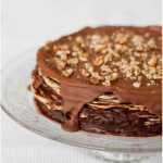 Blynų pyragas - receptas