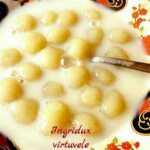 Pieniška bulvinių kukulių sriuba kaip vaikystėje