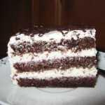 "Kakavinis tortas ""Juoda - balta"""