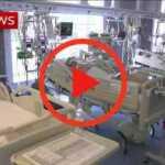 Koronavirusas: šokiruojantis video Italijos ligoninėje