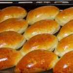 Pyragėliai Bandelės su kopūstais, receptas