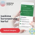 Programėle KoronaStopLT naudojasi vis daugiau žmonių