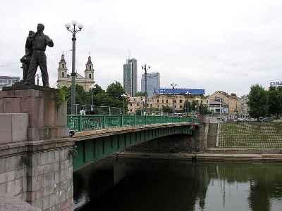 Vilnius. Žaliasis tiltas, 2006-08-08
