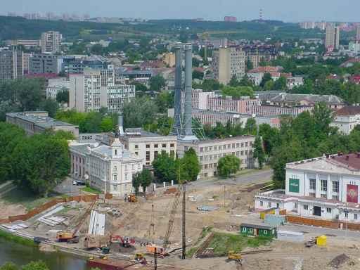 Mindaugo tilto statybos ir Vilniaus elektrinė 2002 m.